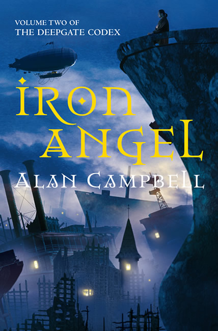 Iron Angel (Deepgate Codex 2) - Alan Campbell