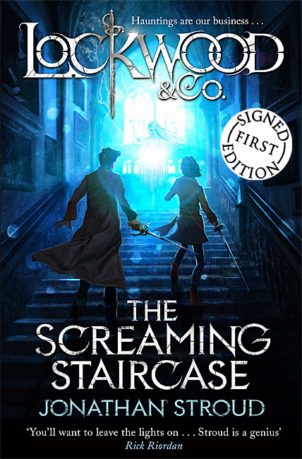 The Screaming Staircase (Lockwood & Co. 1) - Jonathan Stroud