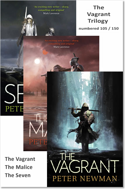 The Vagrant Trilogy - Peter Newman