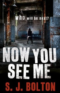 Now You See Me by S J Bolton